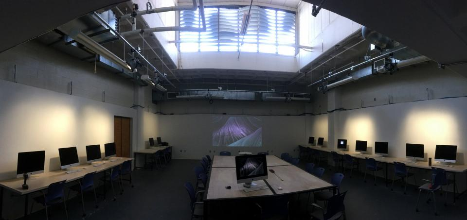 New Media Lab in the Department of Art